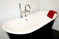 Bath towel stock photography