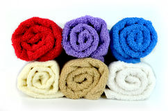 Bath towel Stock Photos