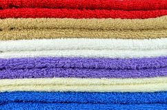 Bath towel Royalty Free Stock Image