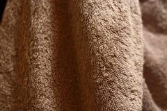 Bath Towel - High Details. A really high detail of a bath towel stock photos