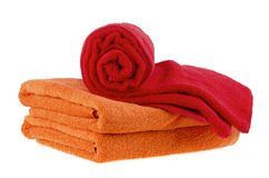 Bath towel Stock Image