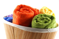 Bath towels Royalty Free Stock Photo