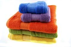 Bath towels Stock Image