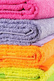 Bath Towels. Royalty Free Stock Photos