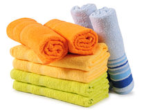 Bath Towels. Royalty Free Stock Images