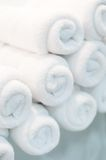 Bath towels Stock Images