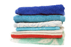 Bath towels Royalty Free Stock Image