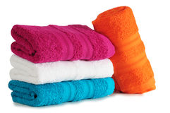 Bath Towels. Royalty Free Stock Photography
