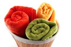 Bath towels Royalty Free Stock Image