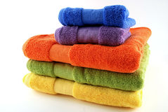 Bath towels Royalty Free Stock Photos
