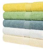 Bath towels. Royalty Free Stock Photos