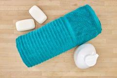 Bath Towels. A studio photo of bath towels Stock Images