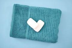 Bath Towels. A studio photo of bath towels Stock Photo