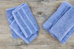 Bath Towels Stock Photo