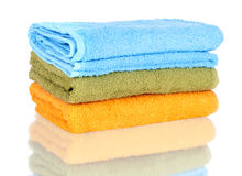 Bath towels Royalty Free Stock Photography