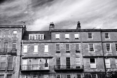 Bath Town Houses Royalty Free Stock Photos