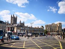 Bath town in the morning in Britian. The city of Bath town in the morning in Britian stock photos
