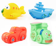 Bath toys Stock Photos