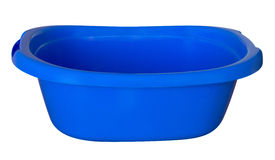 Bath tub - blue Stock Photography