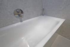 Bath tub detail Stock Photography