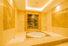 Bath tub in the modern interior Stock Photo
