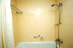Bath tub and shower Stock Image