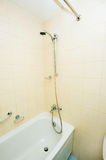 Bath tub and shower Stock Photography