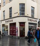 Timpsons store Bath stock images