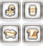 Bath utensils Royalty Free Stock Photography