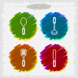 Bath utensils Royalty Free Stock Photography