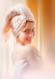 After the bath Royalty Free Stock Photos