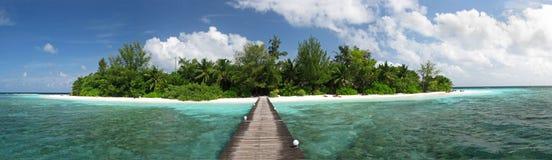 Bathala Island landscape Stock Image