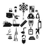 Bathe icons set, simple style. Bathe icons set. Simple set of 25 bathe vector icons for web isolated on white background Stock Image