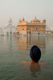 Bather at The Golden Temple Stock Photography