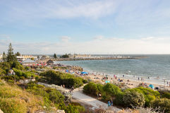 Bather's Beach Crowds Stock Photo