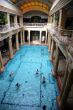 Bathhouse in Budapest Royalty Free Stock Photography