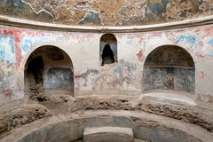 Bathhouse de Pompeii fotografia de stock royalty free