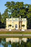 Bathhouse pavilion in Catherine Park, St. Petersburg, Russia Royalty Free Stock Photos