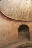Bathhouse van Pompei Stock Afbeeldingen