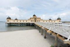 Bathhouse van Varberg royalty-vrije stock foto