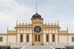 Bathhouse van Varberg stock afbeeldingen