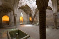 Bathhousen av Argen av Karim Khan AKA Karim Khan ' s-fästning som lokaliseras i Shiraz, Iran royaltyfria foton