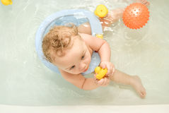 Bathing Royalty Free Stock Photography
