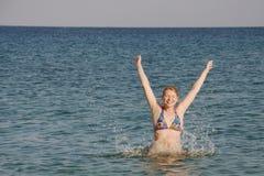 Bathing Stock Image
