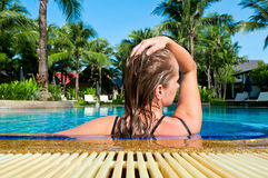 Bathing Royalty Free Stock Photos