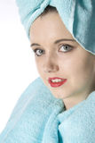 Bathing beauty Stock Images