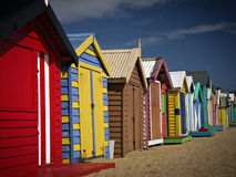 Bathing Boxes Stock Photography