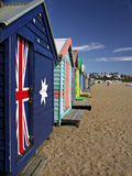 Bathing Boxes Stock Photo