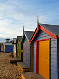 Bathing boxes Royalty Free Stock Images