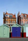 Bathing boxes, Brighton, UK Stock Image
